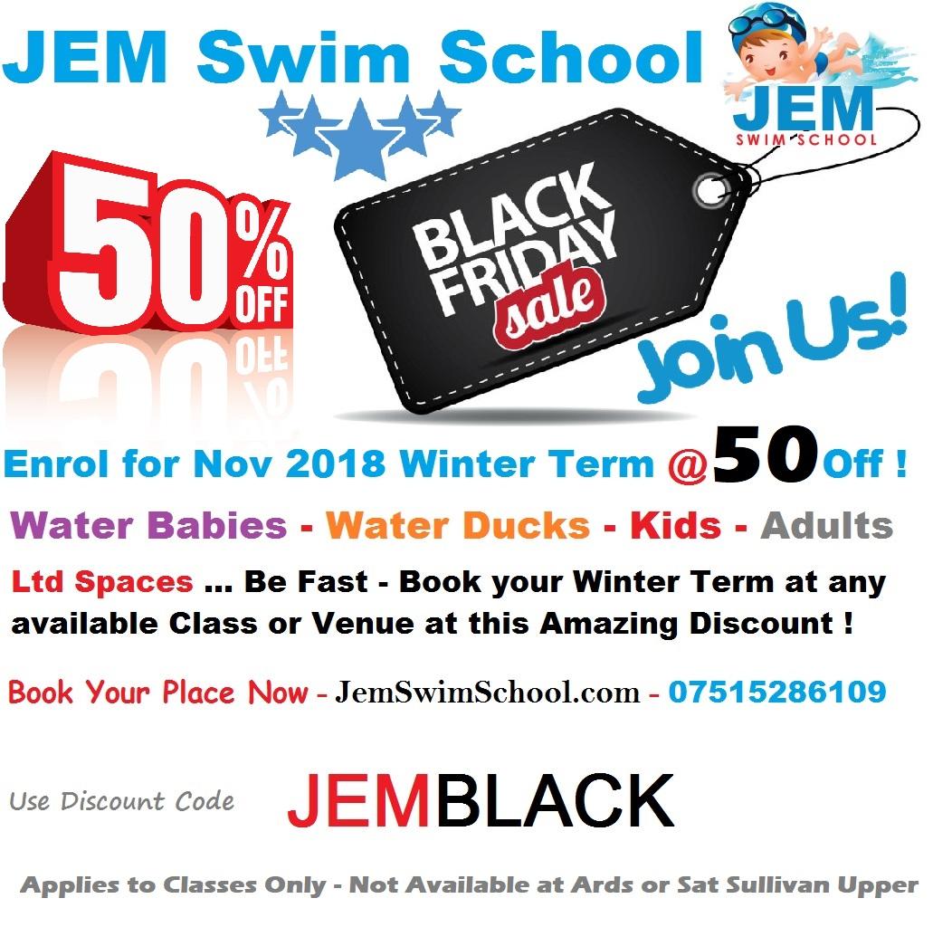 JEM Black Friday Event
