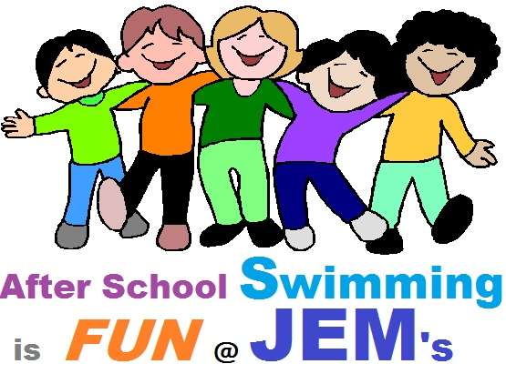 After School Swimming Lessons are FUN @ JEM's