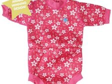 Happy Nappy Wetsuit Pink Blossom