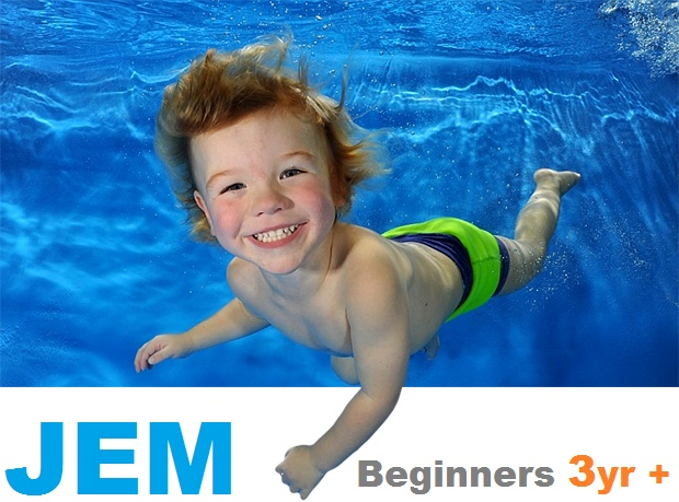 JEM Learn to Swim kids 3yr +